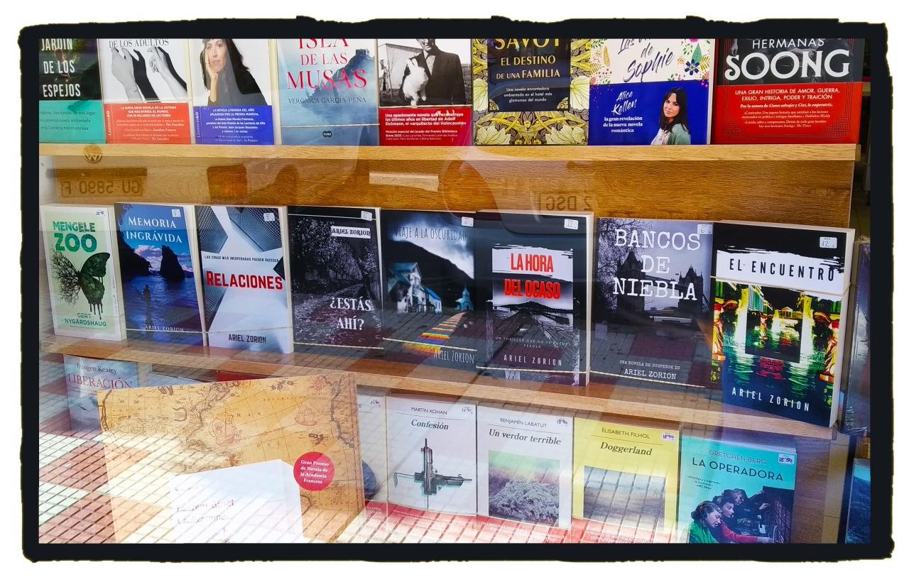 Mis novelas a la venta en la libreríaLUA