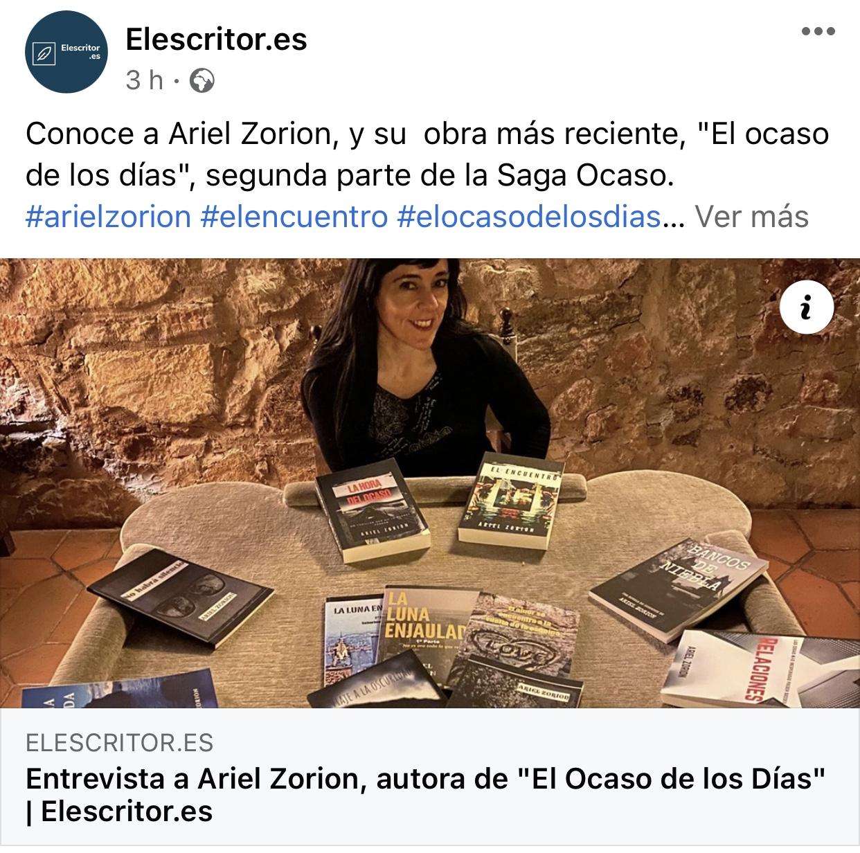 Entrevista en elescritor.es