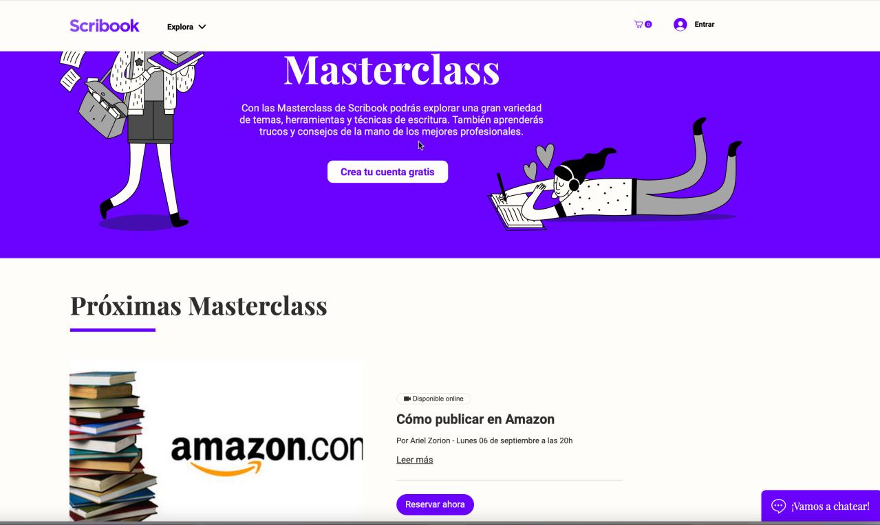 Únete a mi Master Class  Cómo Publicar enAmazon